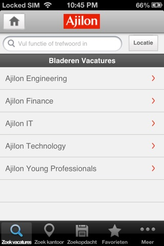 Ajilon Nederland screenshot 2