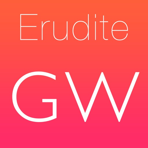 Erudite: word game iOS App