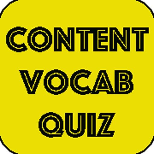 Content Vocab Quiz iOS App