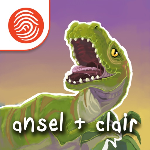 Ansel and Clair: Cretaceous Dinosaurs - A Fingerprint Network App