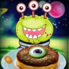 Galactic Kitchen Fever: Outer-space Alien Cooking Scramble FREE