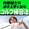 """""""動画付き"""" 内藤 雄士の必ず上手くなるゴルフ練習法"""