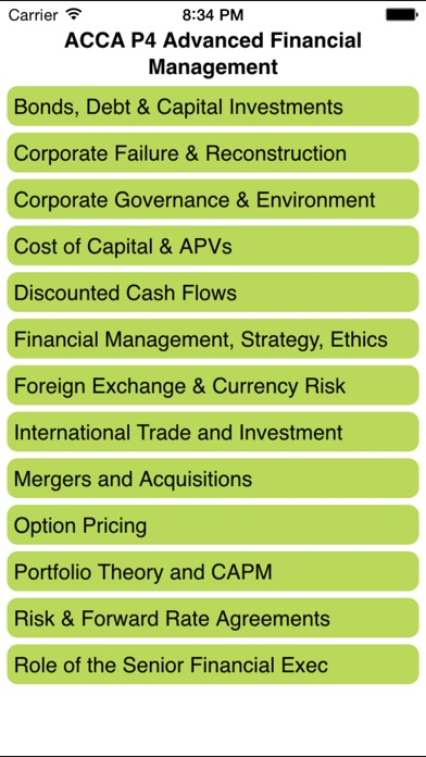 download ACCA P4 Advanced Financial Management apps 4