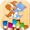 Colorare animali - giochi di animali dello zoo e domestici per dipingere