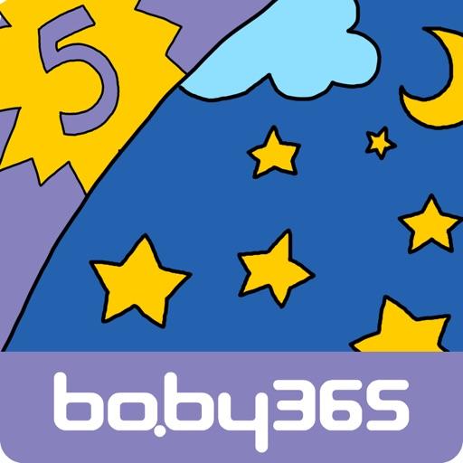 """神奇的""""5""""-麦粒认知绘本-baby365"""