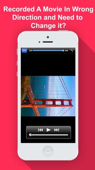 Video rotate flip hd appaddict iphone screenshot ccuart Images