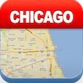 シカゴオフライン地図 - シティメトロエアポート