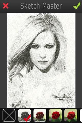 Sketch Master 2 - My Cartoon Brighten Yourself Portrait Photo screenshot 4