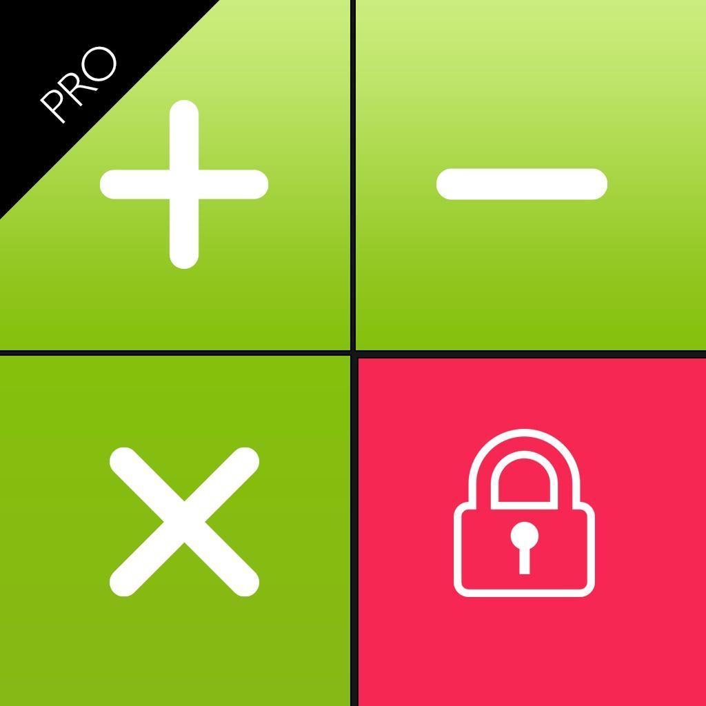 Secret Calculator Video and Photos Pro ( あなたのプライベートデータを保護するために入れて、パスワードで保護し )