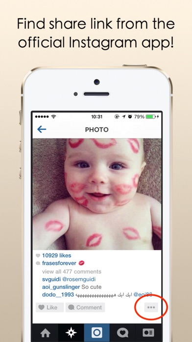 download InsSave - Download & Save Photos & Videos From Instagram With Ease! apps 3