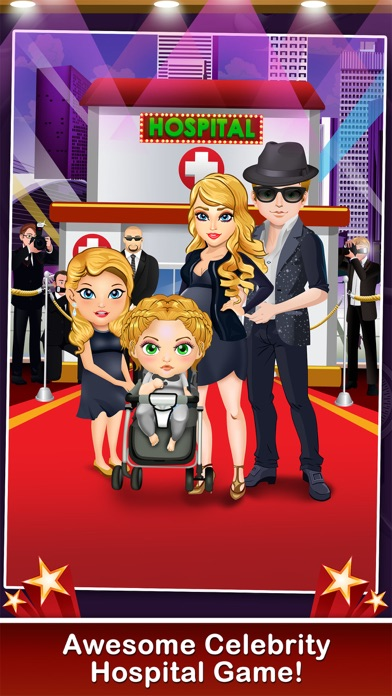 download Celebrity Mommy's Hospital Pregnancy Adventure - new born baby doctor & spa care salon games for boys, girls & kids apps 1