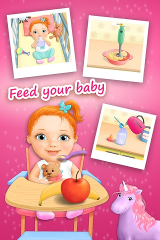 Sweet Baby Girl - Daycare 2 Bath Time and Dress Up Mini Games (No Ads) screenshot 4