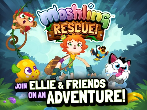Игра Moshling Rescue!