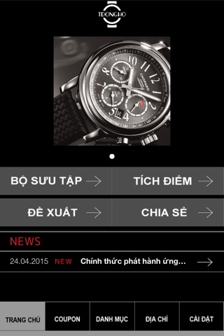 Mua sắm đồng hồ Online screenshot 2