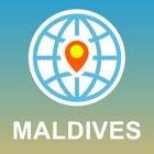 Мальдивы Карта - Карта форума, POI, GPS, направления icon