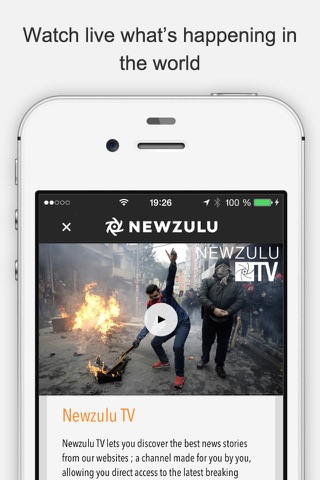 Newzulu, you break the news screenshot 3