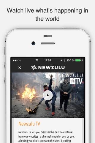 Newzulu, you break the news screenshot 3