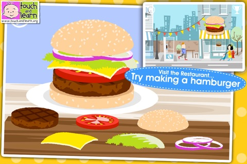 Fun Town for Kids Free - Creative Play by Touch & Learn screenshot 3