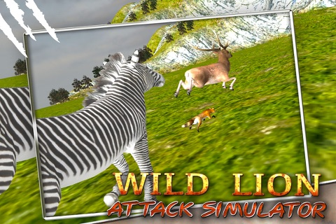 Wild Lion Attack Simulator 3D screenshot 3