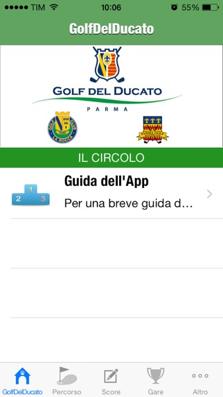 Screenshot of Golf Del Ducato La Rocca1