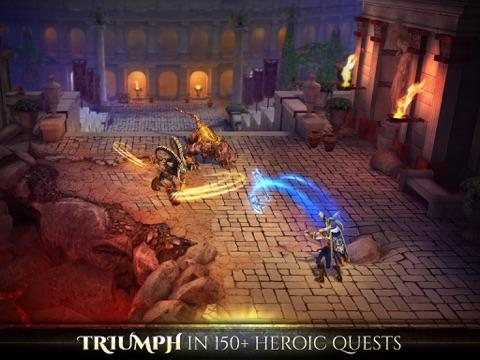 Screenshots of Blood & Glory: Immortals for iPad