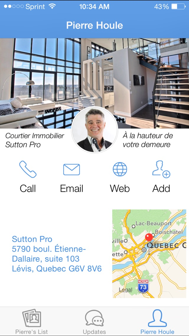 download Pierre Houle, courtier immobilier de Québec apps 1