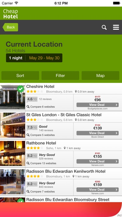 download Cheap Hotel for Tonight Near You - Only the most economical hotels at lower price apps 2