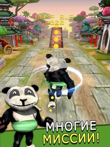 Скачать игру Cartoon Panda Run - бесплатно Карикатура панда Гонки игра Для детей
