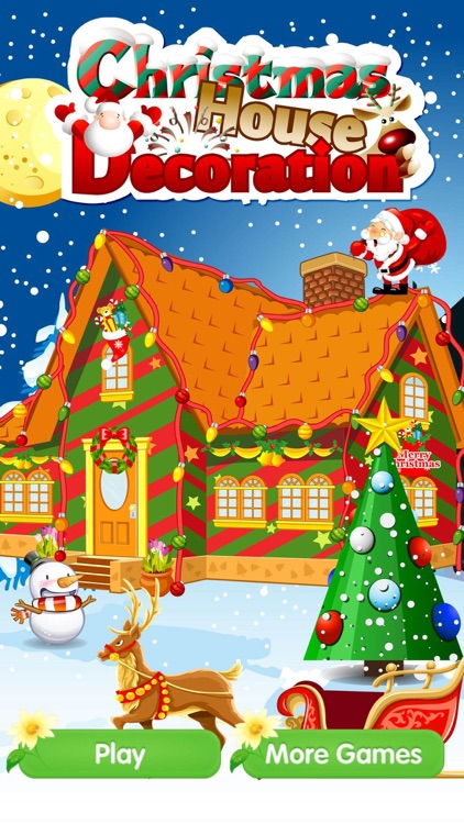Christmas House Decoration - Different dressup game