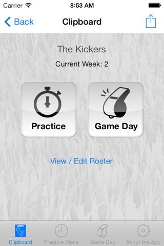 Upward Soccer Coach screenshot 2