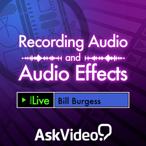 AV for Recording Effects and Audio in Live 9 Mac OS X
