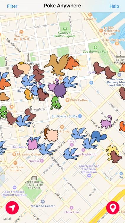 Go Finder - Real GPS Poke Map & Radar For Pokémon Go by Khoa Le