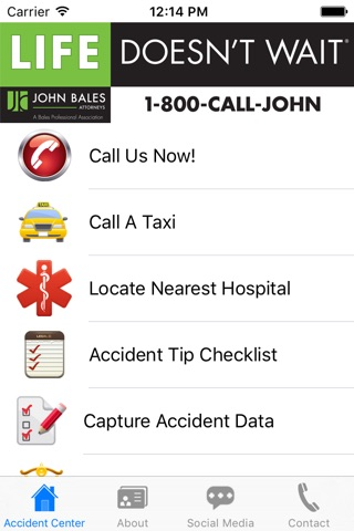 John Bales Attorneys Accident and Injury Toolkit screenshot 1