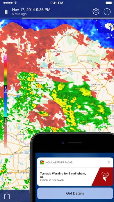 Screenshot #8 for NOAA Weather Radar.