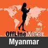 Myanmar Offline Map and Travel Trip Guide myanmar map