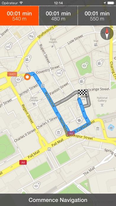 Toulouse Déconnecté carte et guide de voyageCapture d'écran de 4