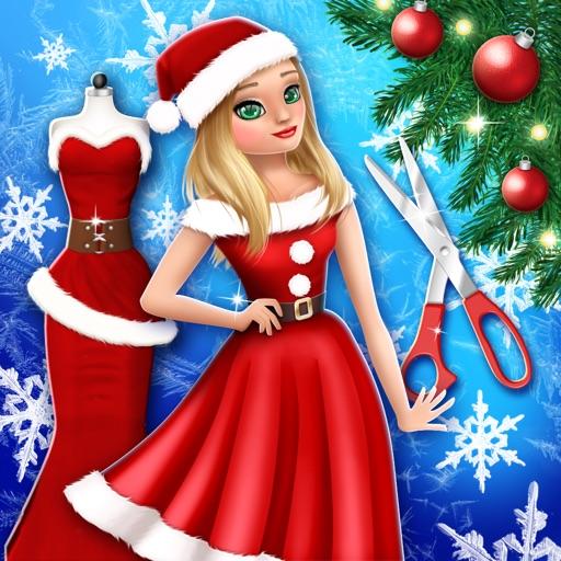 Christmas Salon Dress Designer Fashion Girl Games By