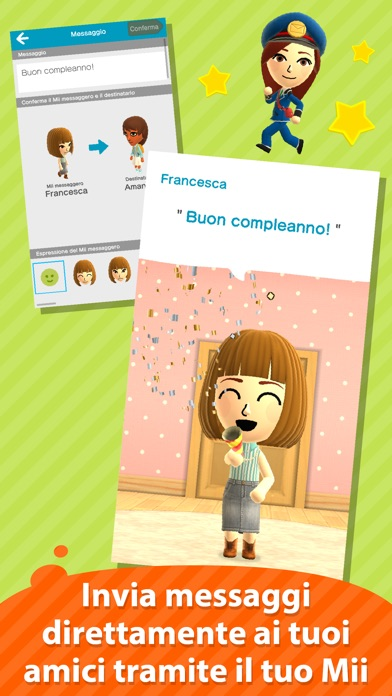 Screenshot of Miitomo2