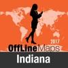 印第安纳州 離線地圖和旅行指南