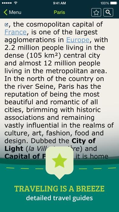 Screenshot #10 for Pocket Earth PRO Offline Maps & Travel Guides