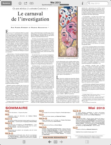 Capture d'écran iPad 2