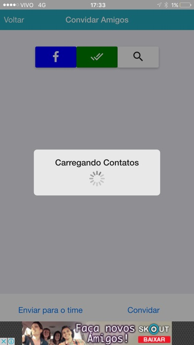 Captura de tela do iPhone 5
