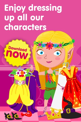 Dress Up Characters - Dressing Games for Toddlers screenshot 1