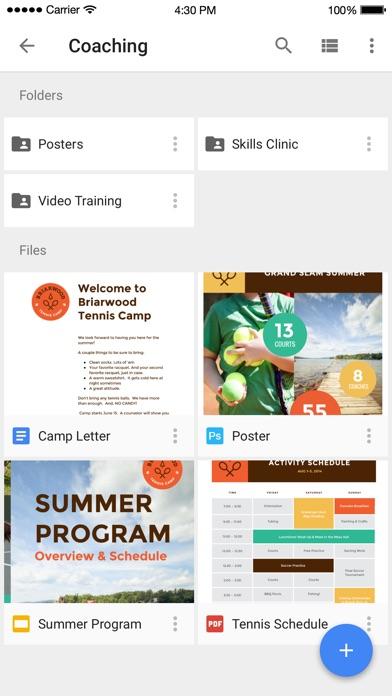 Google Drive – надежное облачное хранилище файлов Screenshot