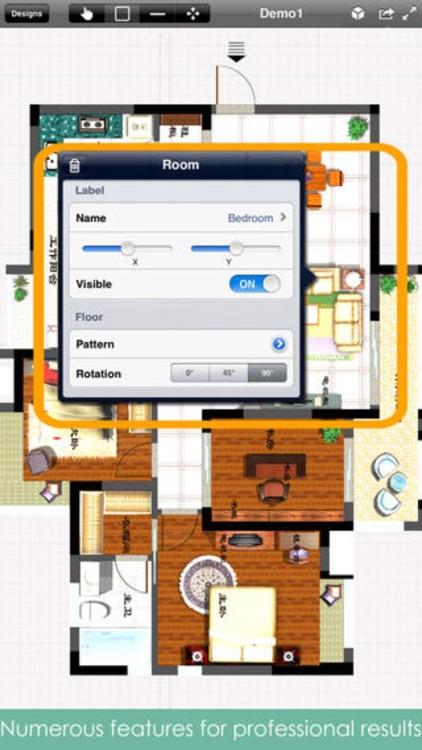 Home Design Pro Interior Design Floor Plan CAD by Rassulzhan