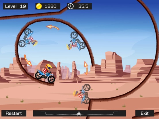 Top Bike - Best Motorcycle Stunt Racing Game Скриншоты11