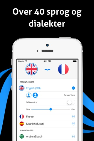 iTranslate Voice - Speak & Translate in Real Time screenshot 3