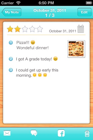 Think happy thoughts! Happynote screenshot 4