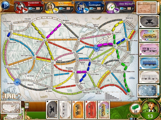 Screenshot #1 for Ticket to Ride