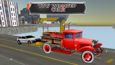 レッカー車の駐車場 - 都市車のけん引シミュレーターのゲームのスクリーンショット4